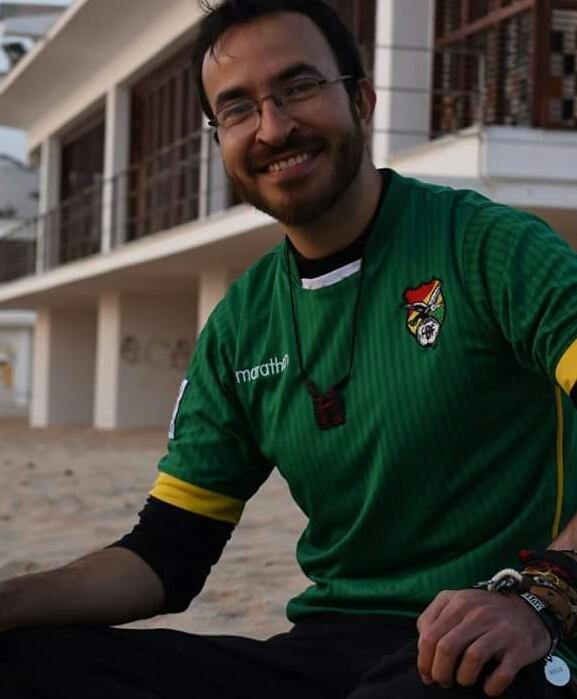 Becario de la Fundación Carolina en Cadiz